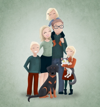 Familie_CORINA